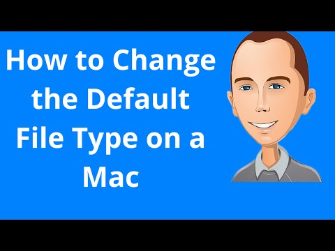 How to Change the Default File Type on a Mac