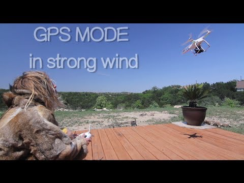 How Stable Is DJI Phantom Hover In Strong Wind With GPS Mode