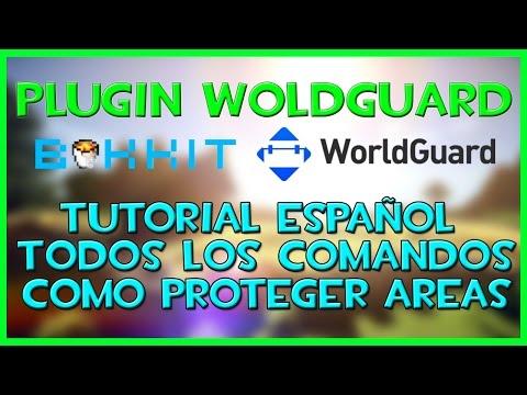 WorldGuard | Como Proteger lobby/spawn/zonas en tu servidor | Comandos | Plugin Bukkit Español.