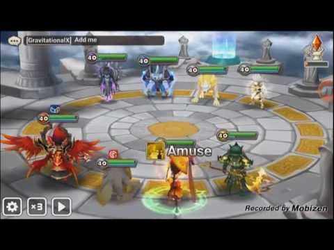 Summoners War: Arena with Leo (Wind Dragon Knight)