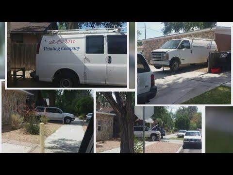 Cars blocking sidewalk raise eyebrows in Albuquerque neighborhood