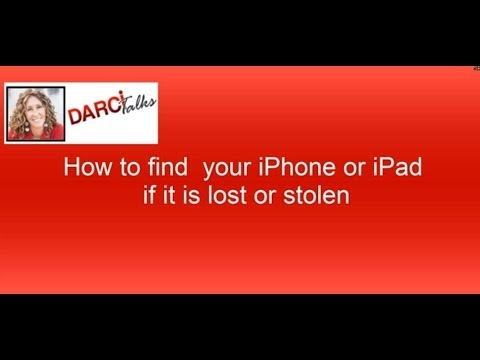 How to find my iPad or iPhone if lost or stolen