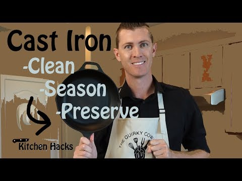 How to Clean Season and Preserve Cast Iron Cookware Easy Useful Tips and Tricks Simple Kitchen Hacks