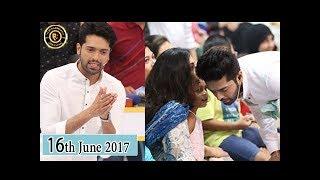 Jeeto Pakistan - 16th June 2017 -  Fahad Mustafa - Top Pakistani Show
