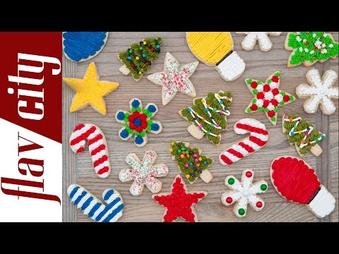 How to Decorate Christmas Sugar Cookies - How To Make Christmas Cookies