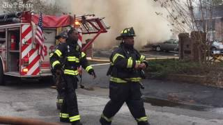 Apartment fire off Garners Ferry Road