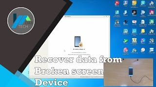 Data recovery from LOCKED Samsung devices with broken screen w/O ADB | DarTech