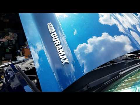 Pt2  Chevy 2500 Duramax Allison Oil and Filter Change Amsoil Diesel Oil