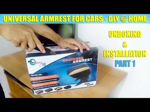 Unboxing & Assembling Universal Car Armrest- Renault Kwid Tiago Alto..