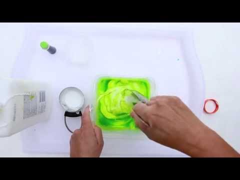 How to Make Slime Using Liquid Starch  CREATIVE BASICS Episode 6