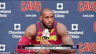 LeBron James stands by calling President Trump a