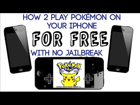 How to play Pokémon on your iPhone, no jailbreak, free, in iOS 6+ (7, 8, 9+) [Read Desc.]