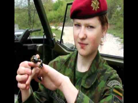 Most Beautiful Female Soldiers all over World