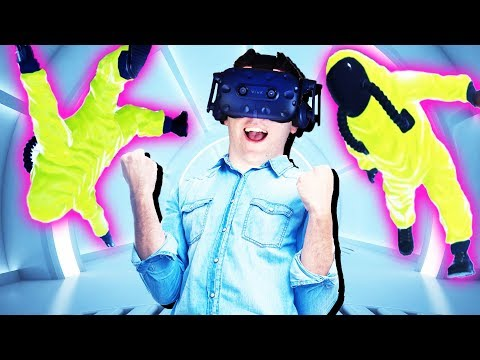 VR MIND POWERS! Combat Tested Gameplay - VR HTC Vive Pro