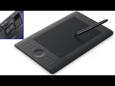 Wacom Intuos 5 Touch w/ wifi - full set up