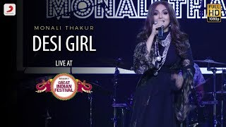 Desi Girl - Live @ Amazon Great Indian Festival | Monali Thakur | Dostana