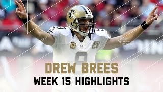 Drew Brees Throws For 389 Yards 4 Tds Saints Vs Cardinals Nfl Week 15