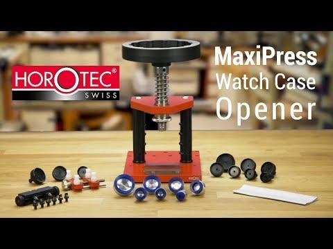 Horotec Maxipress Deluxe Waterproof Watch Back Opener