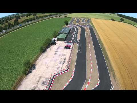 New Go Karting Track in Nottingham - Birds Eye View