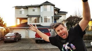 HUGE UPDATE! I Bought 4-Story House for Drop Tests! Pool! Smarthome! So Excited!