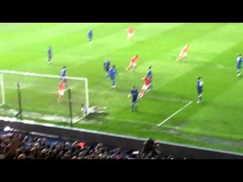 Steven Dobbie goal for Blackpool V Birmingham City in play offs 9/5/2012