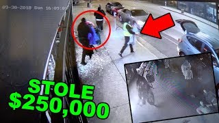 SNEAKER SHOP ROBBED ON CAMERA! *STOLE $250K WORTH SUPREME, BAPE AND MORE*
