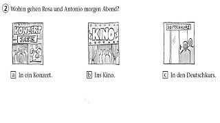 Goethe zertifikat a1 start deutsch mündliche prüfung