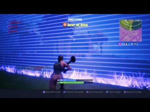 Fortnite 1 player vs waves of waves of enemy... - 50v50