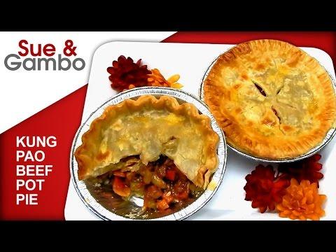Kung Pao Beef Pot Pie - Asian Pillsbury Pie Crust Recipe