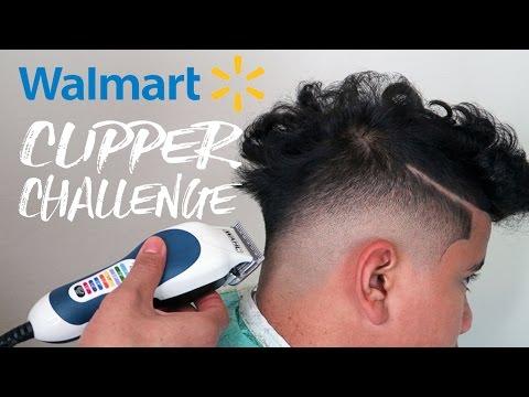 💈 WALMART CLIPPER CHALLENGE | MID-DROP FADE TUTORIAL