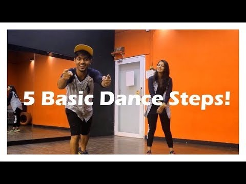 Easy Hiphop Dance Steps - Part 2 I Vicky and aakanksha