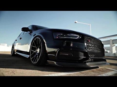 Vader 2014 Audi S4, Stance SC 8 wheels SCP matte black clear brushed bronze x Armytrix