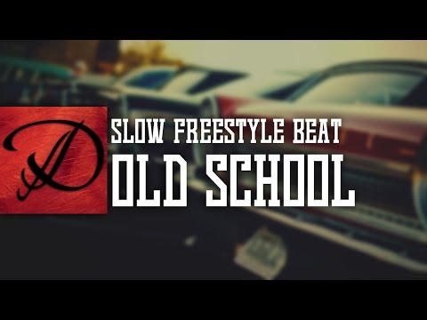 Slow OldSchool type hip hop freestyle instrumental beat