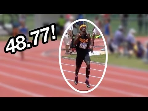 13-Year-Old Drops 48 Second 400m!