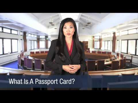 What is a Passport Card?
