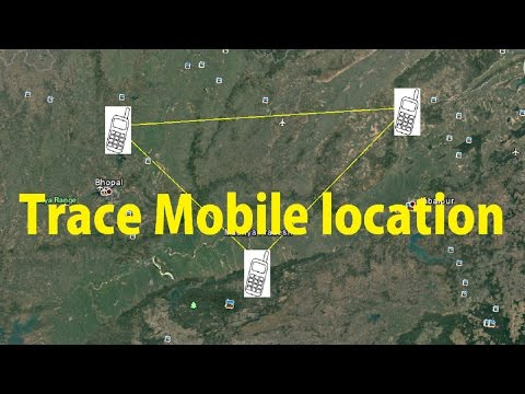 How To Trace Mobile Number Location | GPS and How it Works? [Hindi]