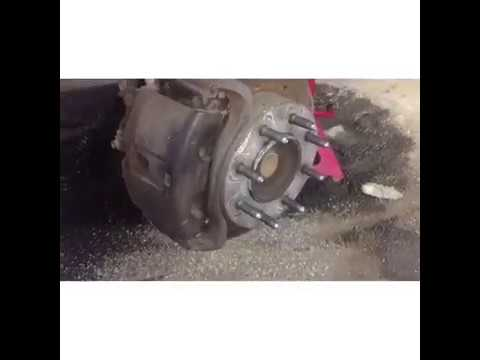 CHEVY GMC 2500 front wheel bearing replacement