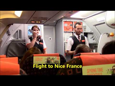 Easyjet Flight From London Luton to Nice France