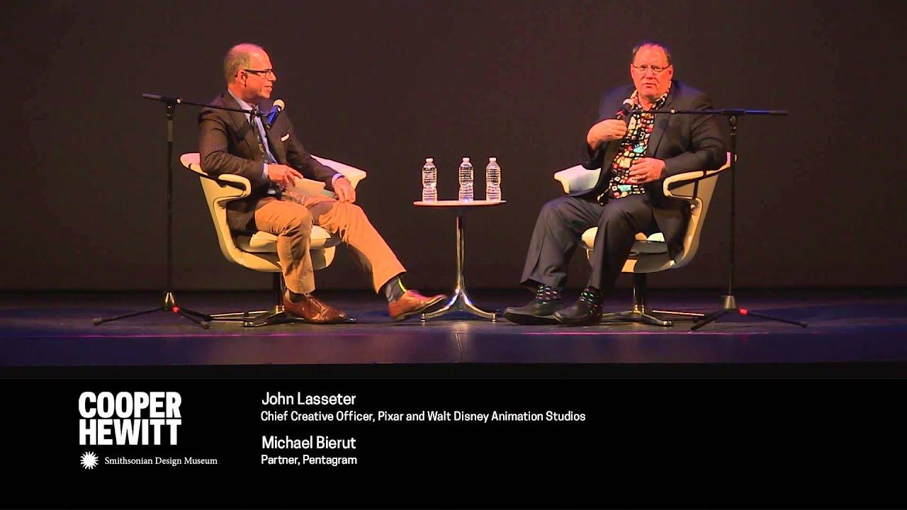 Pixar's John Lasseter in Conversation with Michael Bierut (1 of 2)
