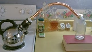 Homemade Water Distiller Diy Stove Top Pure Water Still Easy Instruct