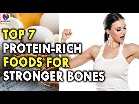 Top 7 Protein Rich Foods For Stronger Bones - Best Diet for Strong Bones