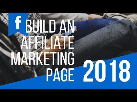 Build Your Own Affiliate Marketing Facebook Page
