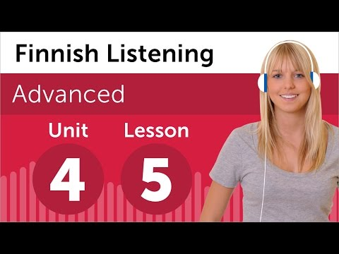 Finnish Listening Practice - Making a Complaint in Finnish