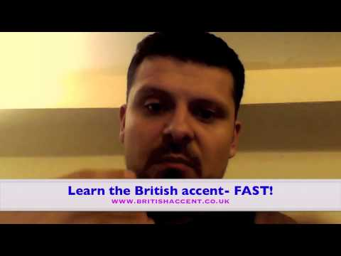 British Accent Training Course Testimonial 'Learn the British accent- FAST!'