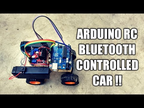 How to make a RC Bluetooth Car With Arduino  ?  Part 1 Arduino #4
