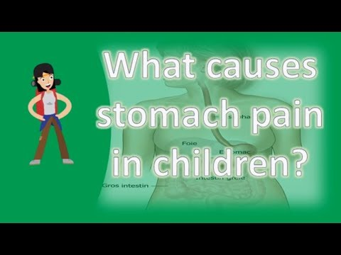 What causes stomach pain in children ? |Health Channel Best Answers