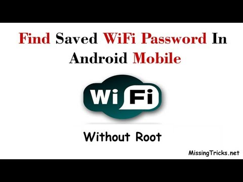 How To Find Saved WiFi Password In Android (Without Root)