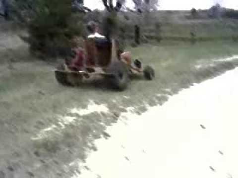 Wood Go Kart With a Gas Engine: Go Kart Guru