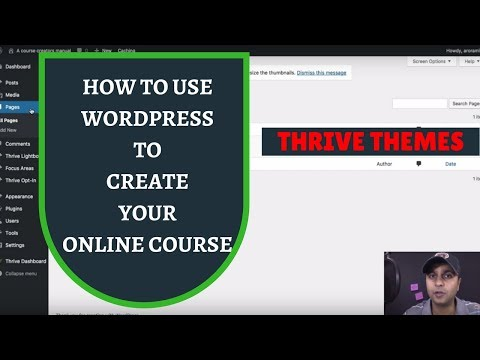 Creating Landing Pages for your online school on Wordpress - Episode 1