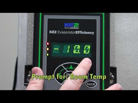 Video 030 Setup KE2 Evap Controller for Walk in Freezer (FAQ: on Walkin Coolers, Walk in Freezers)